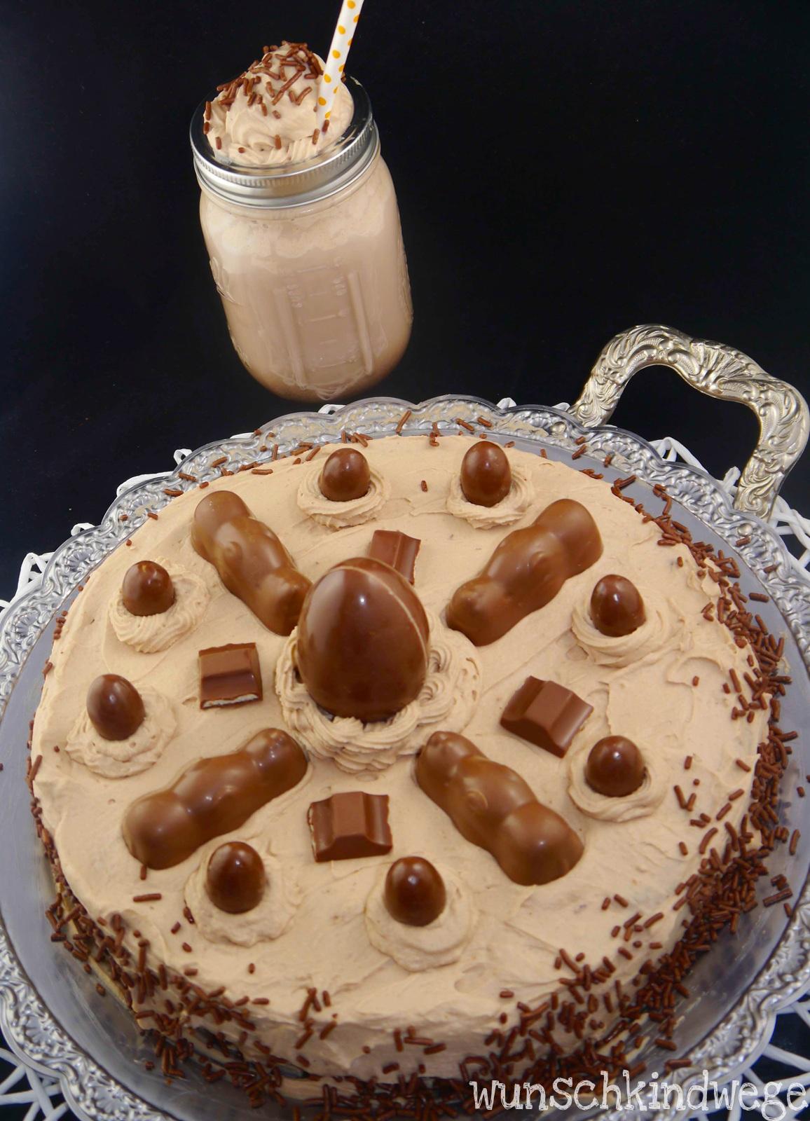 Diy Kinderschokoladen Torte Basteln Wunschkindwege