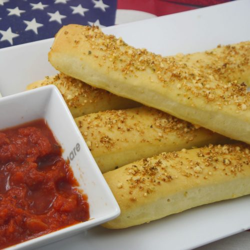 Breadsticks Pizza Hut USA selbstgemacht