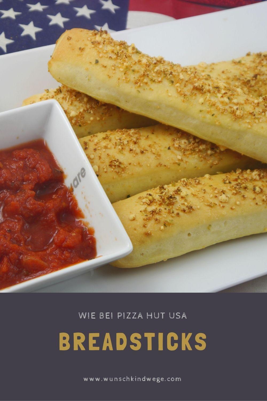 Copycat Breadsticks Pizza Hut USA Rezept
