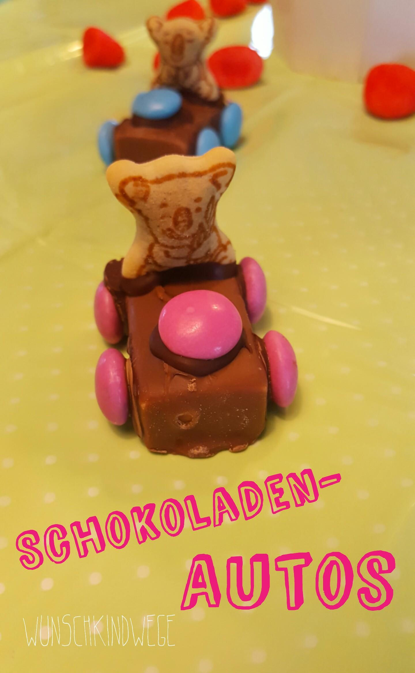 Schokoladenautos
