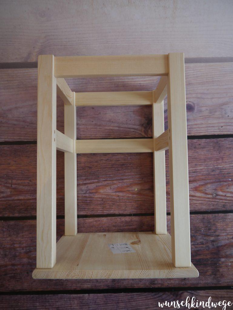 ODDVAR mit umgekehrter Sitzfläche für Learning Tower