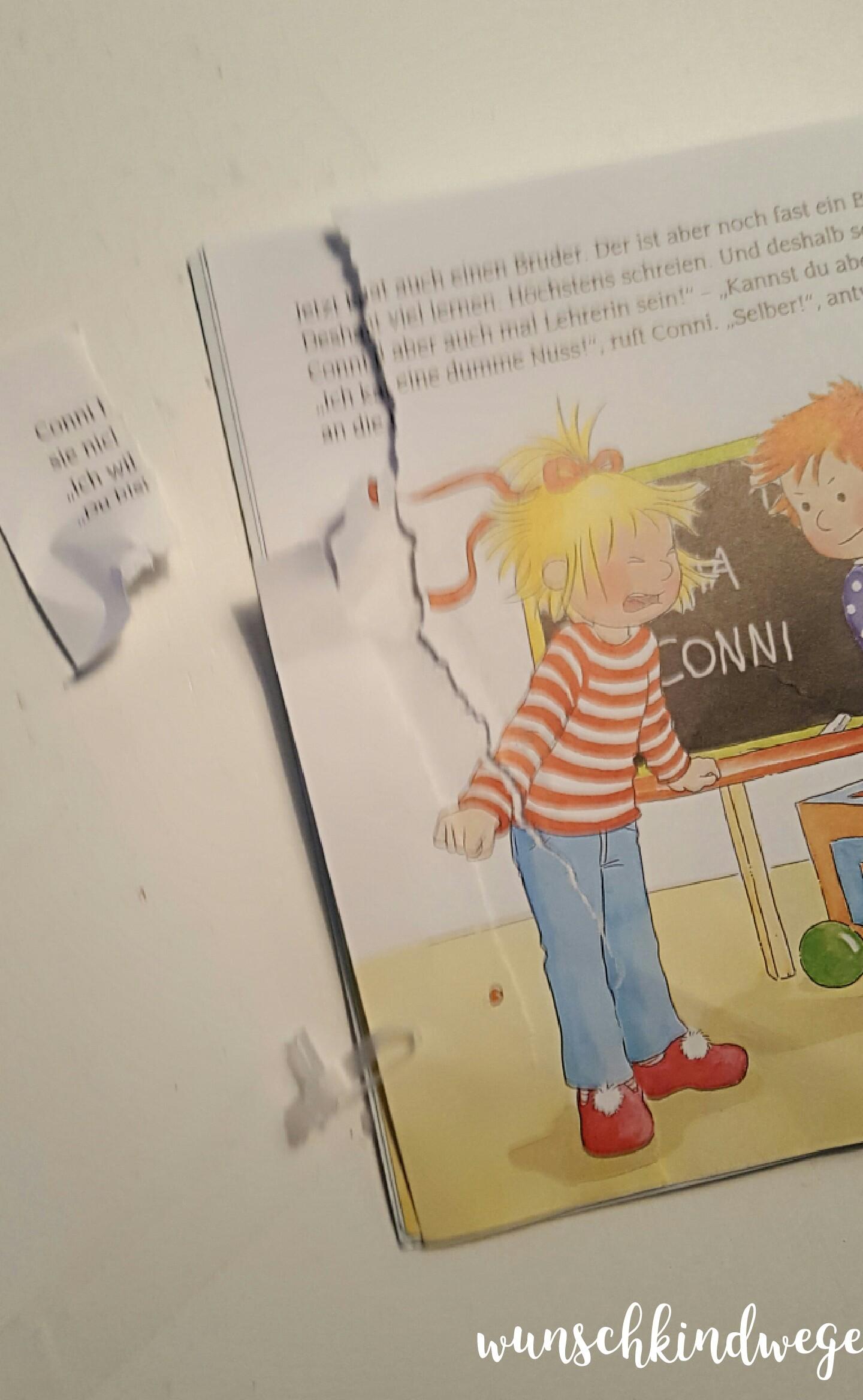 Buch zerrissen 21 Monate alt