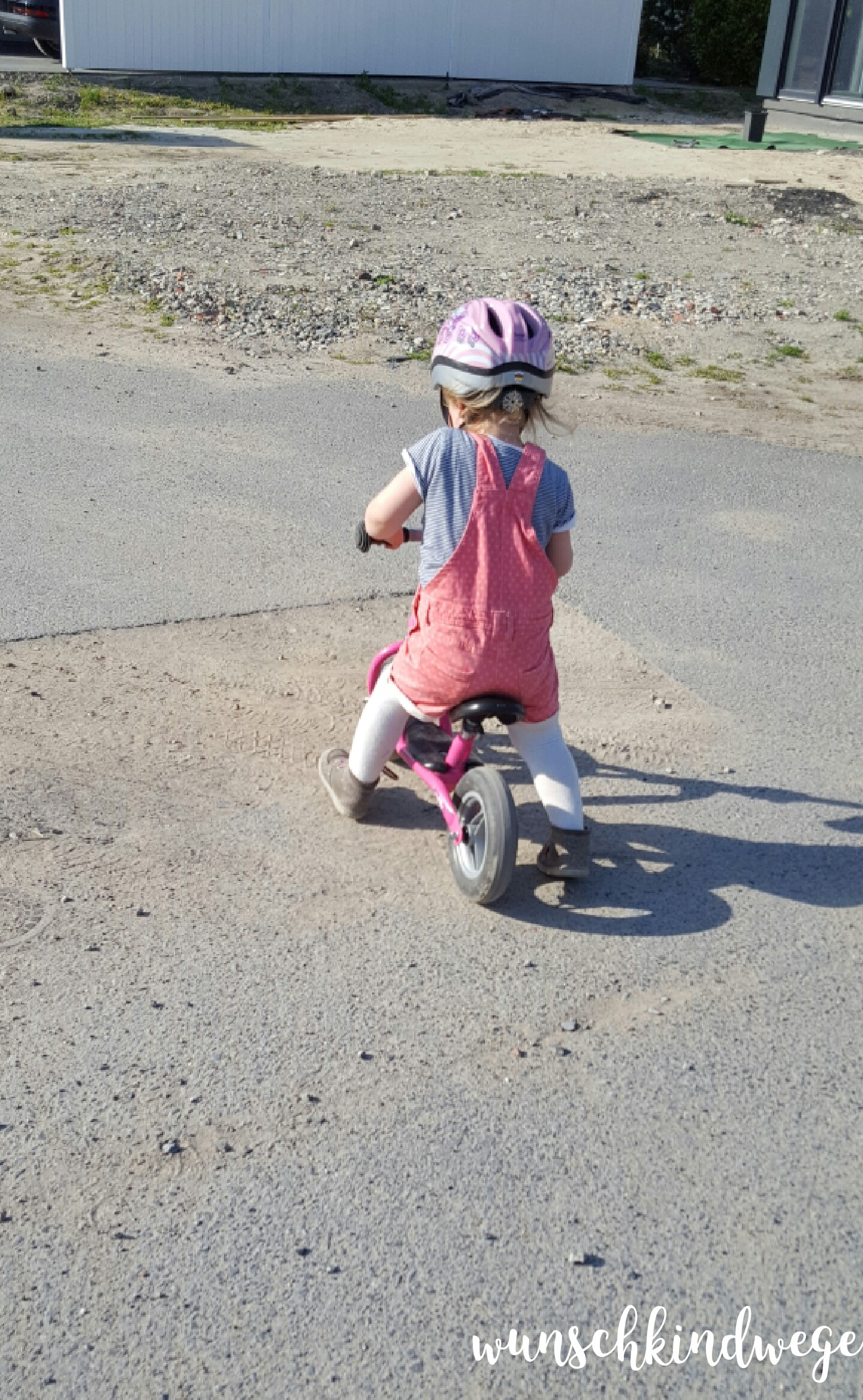 21 Monate alt - Laufrad
