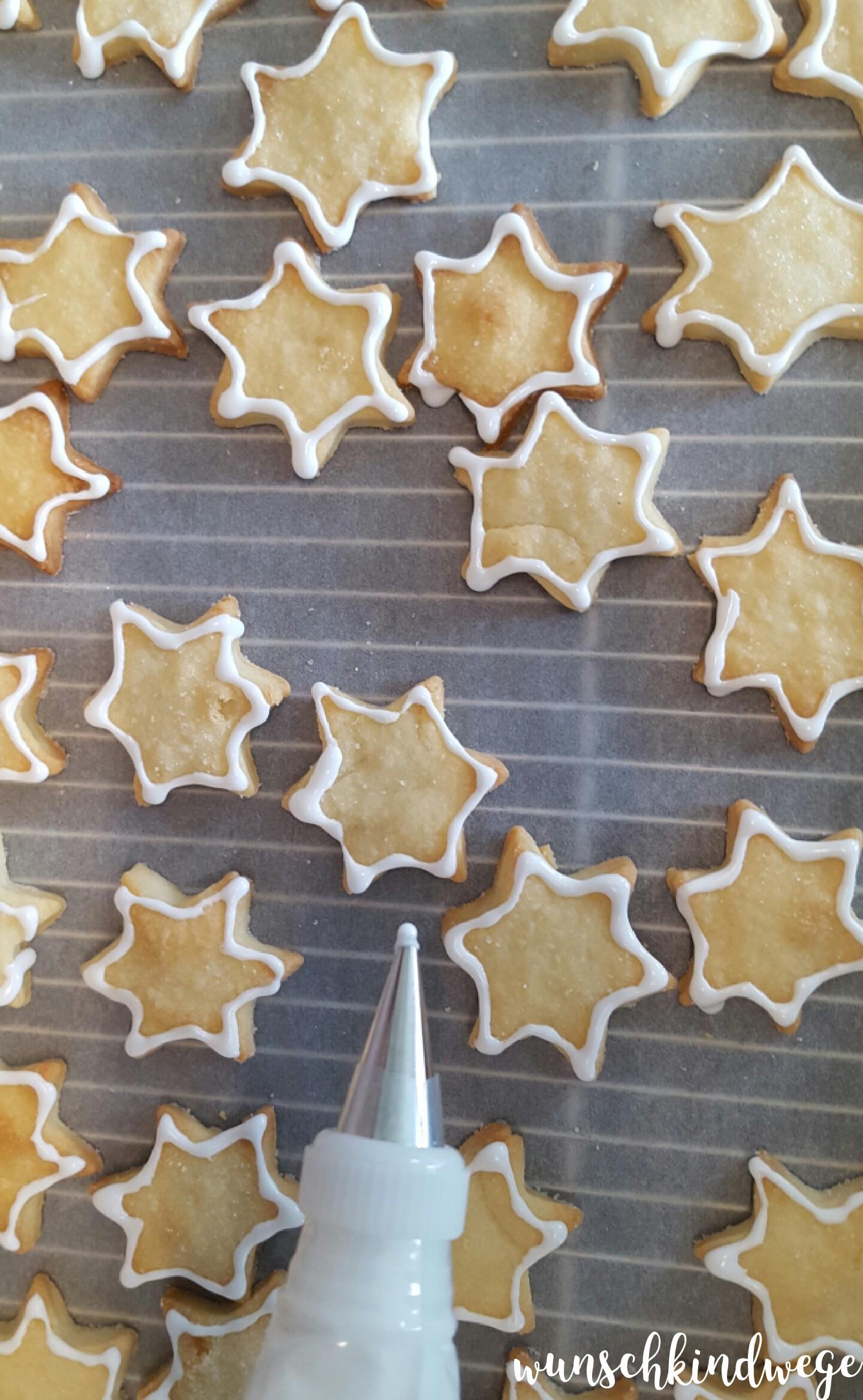 Royal Icing USA Flaggen Kekse