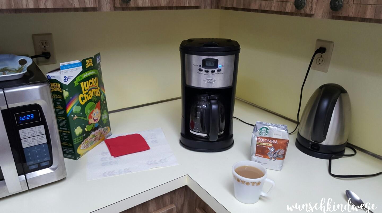 Juni 2017: Kaffee