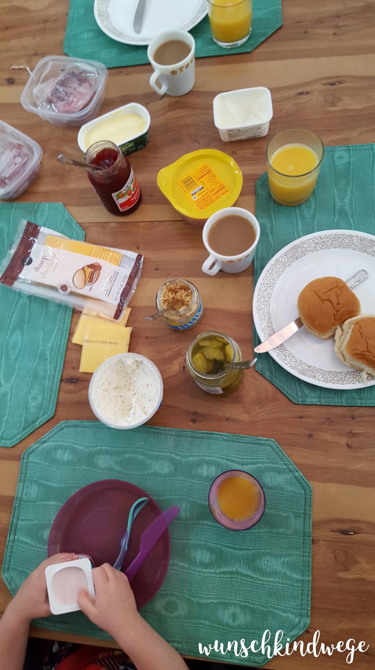 Juni 2017: Amerikanisches Frühstück