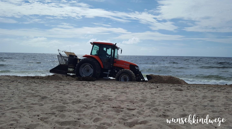 Juni 2017: Beach Raker