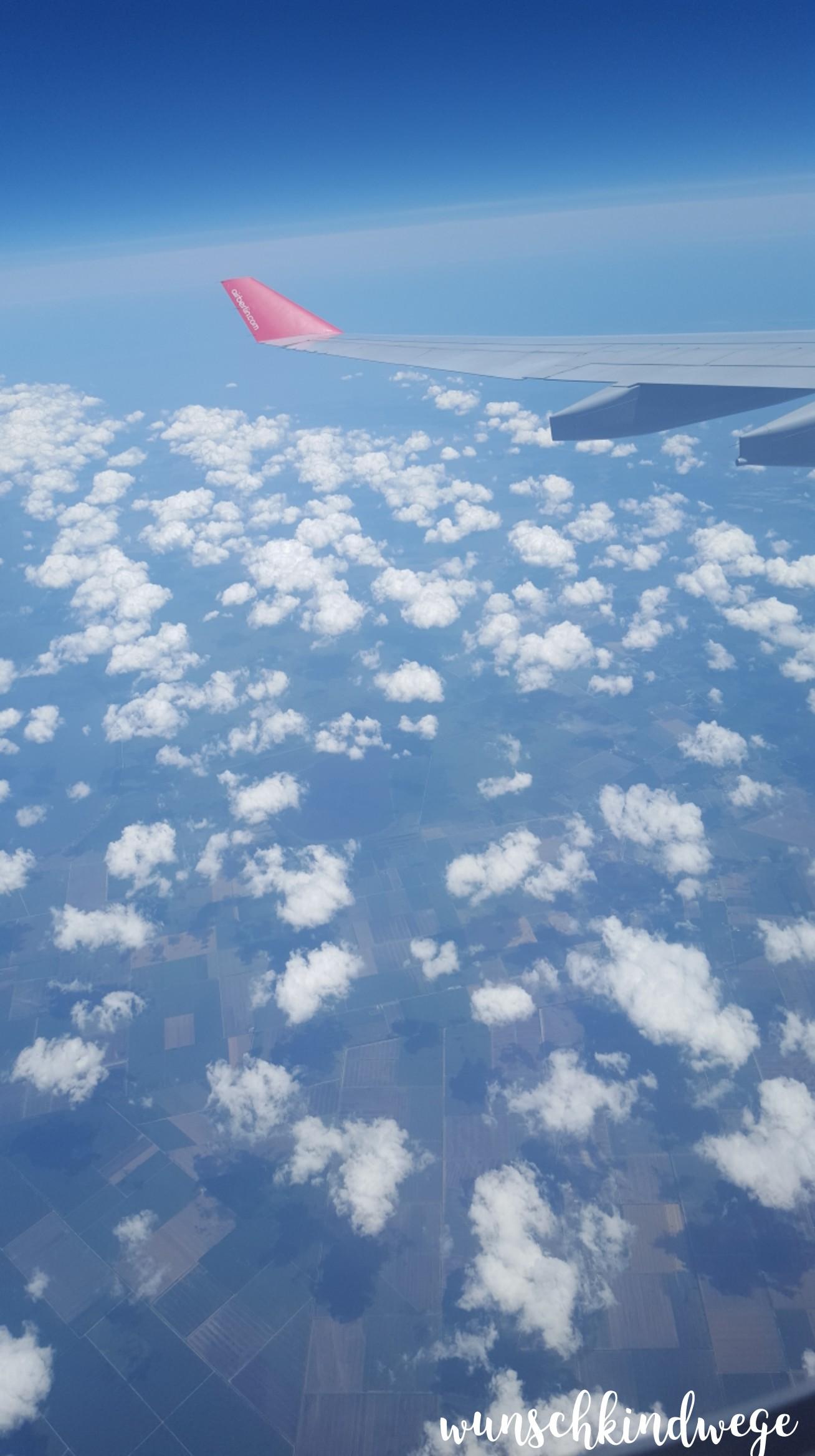 Florida mit Kindern: North Carolina aus der Luft