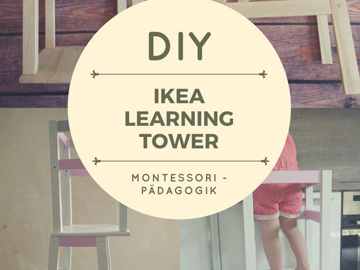 DIY IKEA Learning Tower