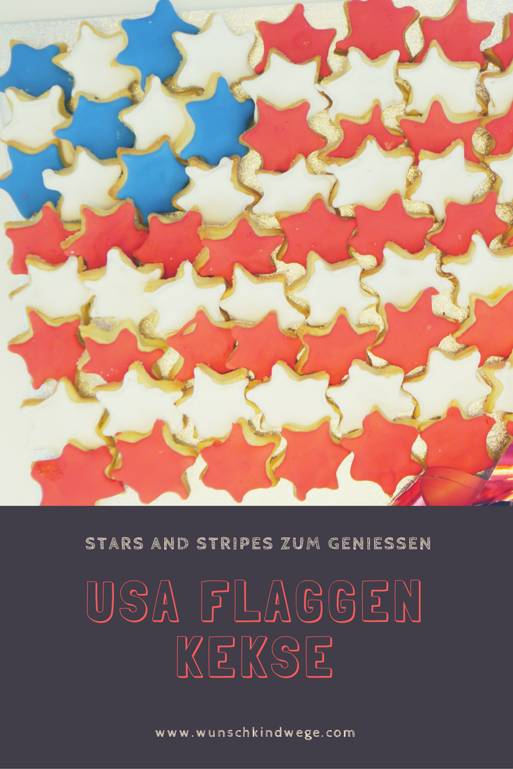 Usa Flaggen Kekse