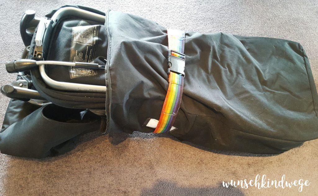 Packliste: Buggy in Buggyhülle für USA Urlaub