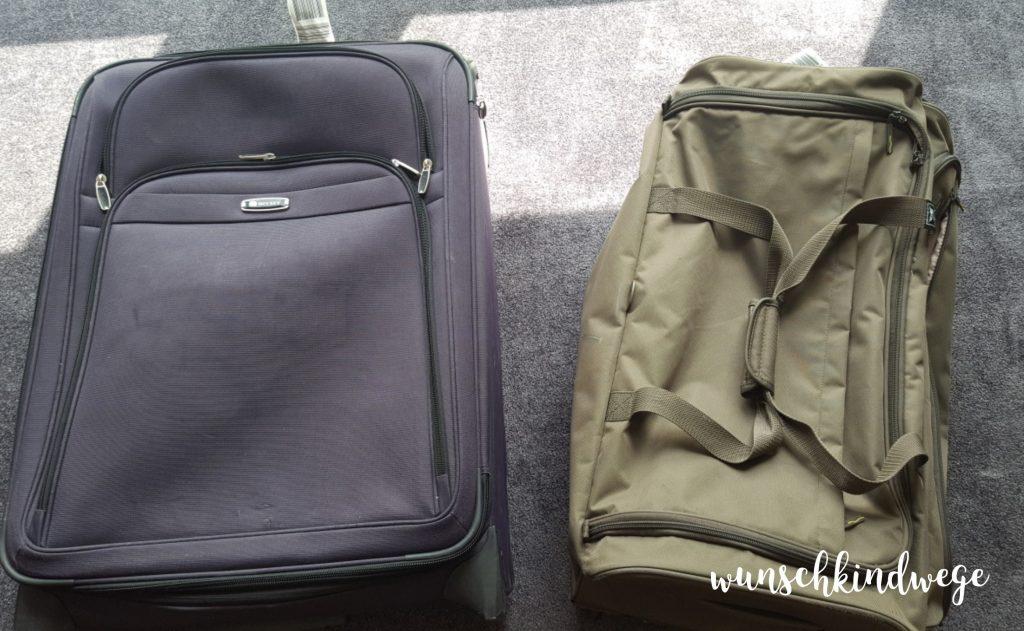 Packliste: Koffer und Reisetasche