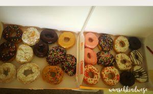 Florida mit Kindern Reisetagebuch Dunkin Donuts