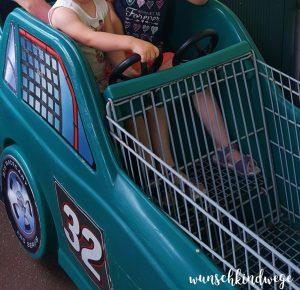 Florida mit Kindern Reisetagebuch Publix Einkaufswagen