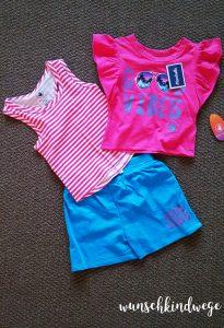 Florida mit Kindern Reisetagebuch: Outfit