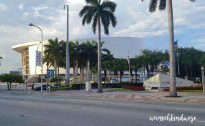 Florida mit Kindern Reisetagebuch American Airlines Arena