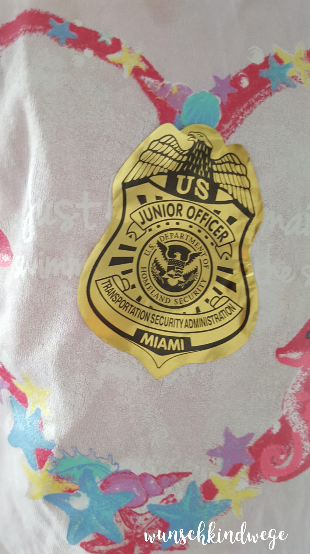TSA Junior Officer Sticker