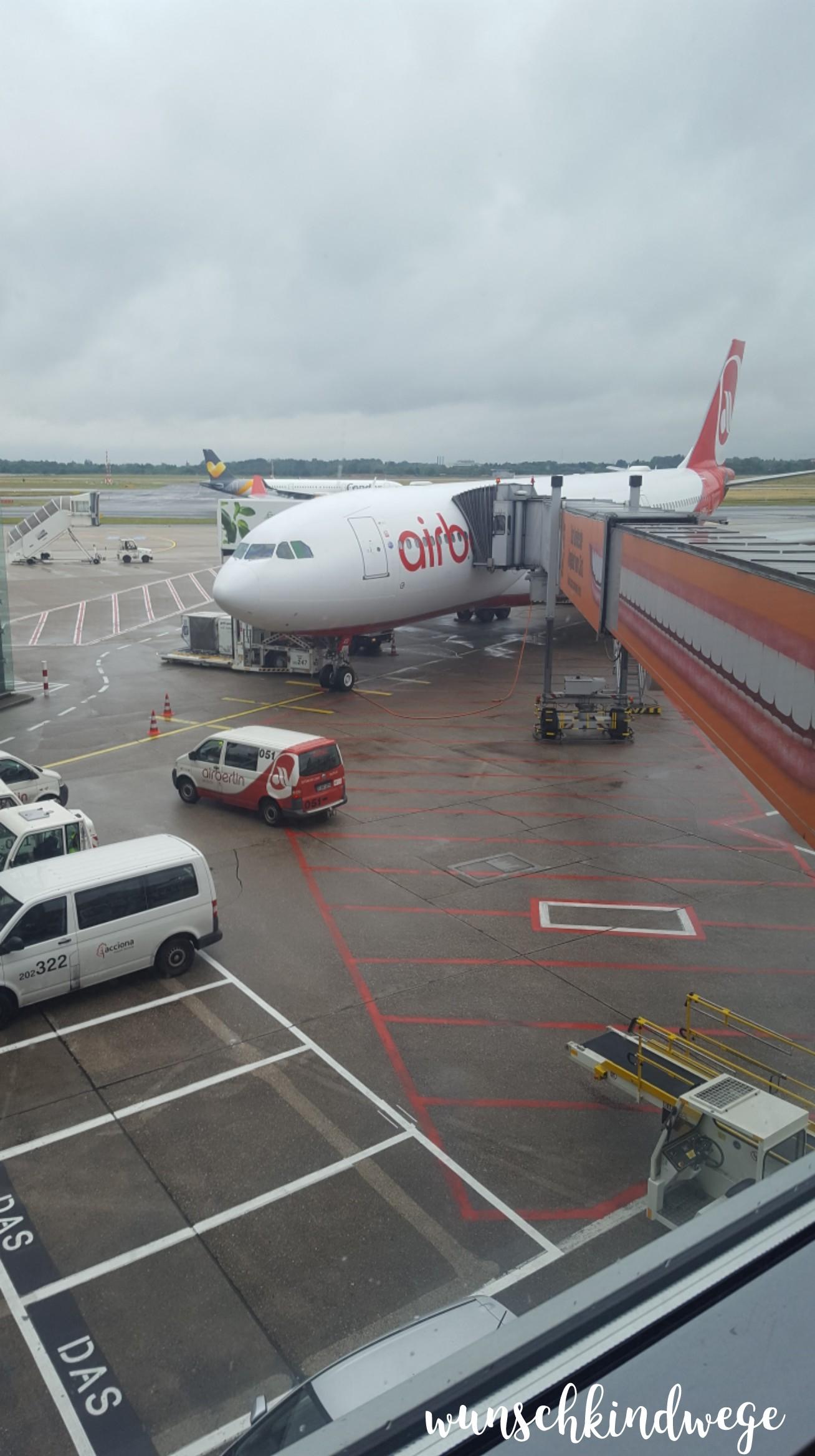 Air Berlin A330 DUS Florida Rückflug