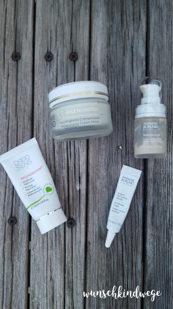 Packliste Körperpflege Gesichtscreme und Co.