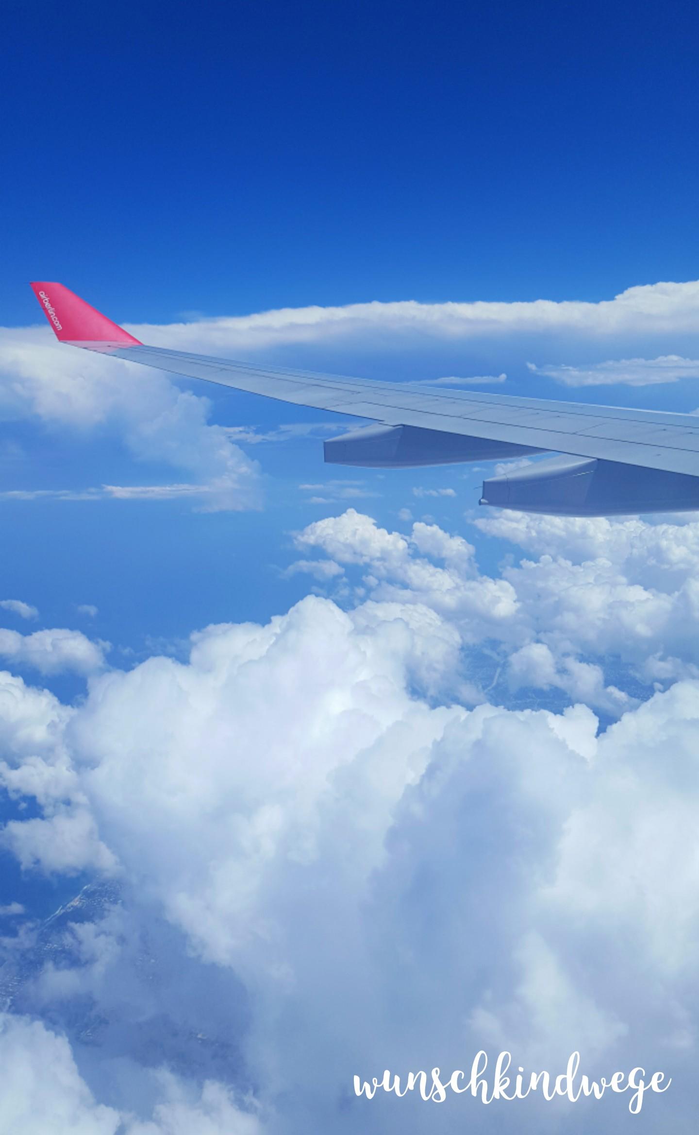 Florida mit Kindern: Über den Wolken