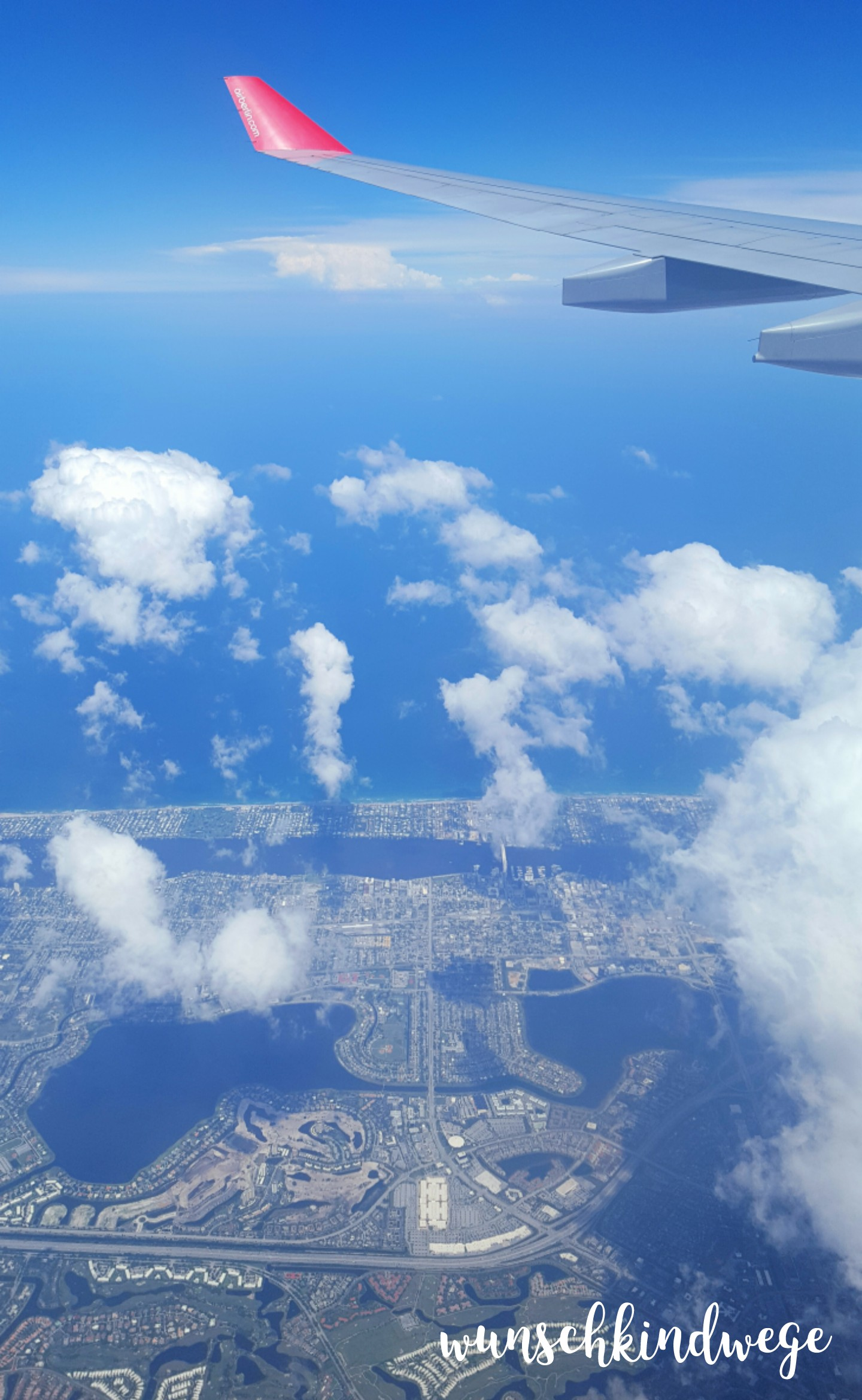 Florida mit Kindern: Miami aus der Luft