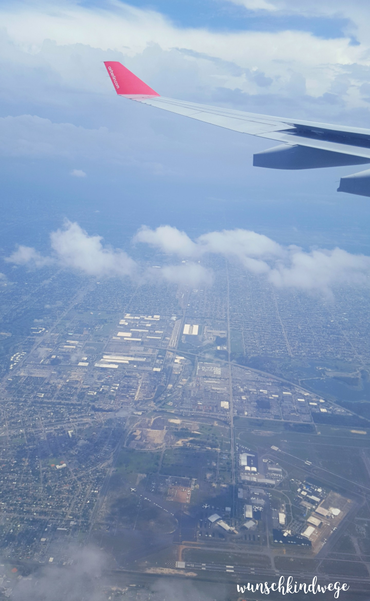 Florida mit Kindern: Miami Opa Locka aus der Luft