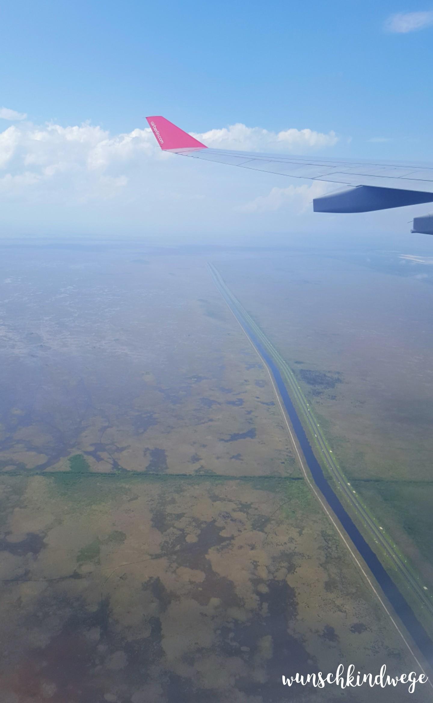 Florida mit Kindern: Everglades aus der Luft