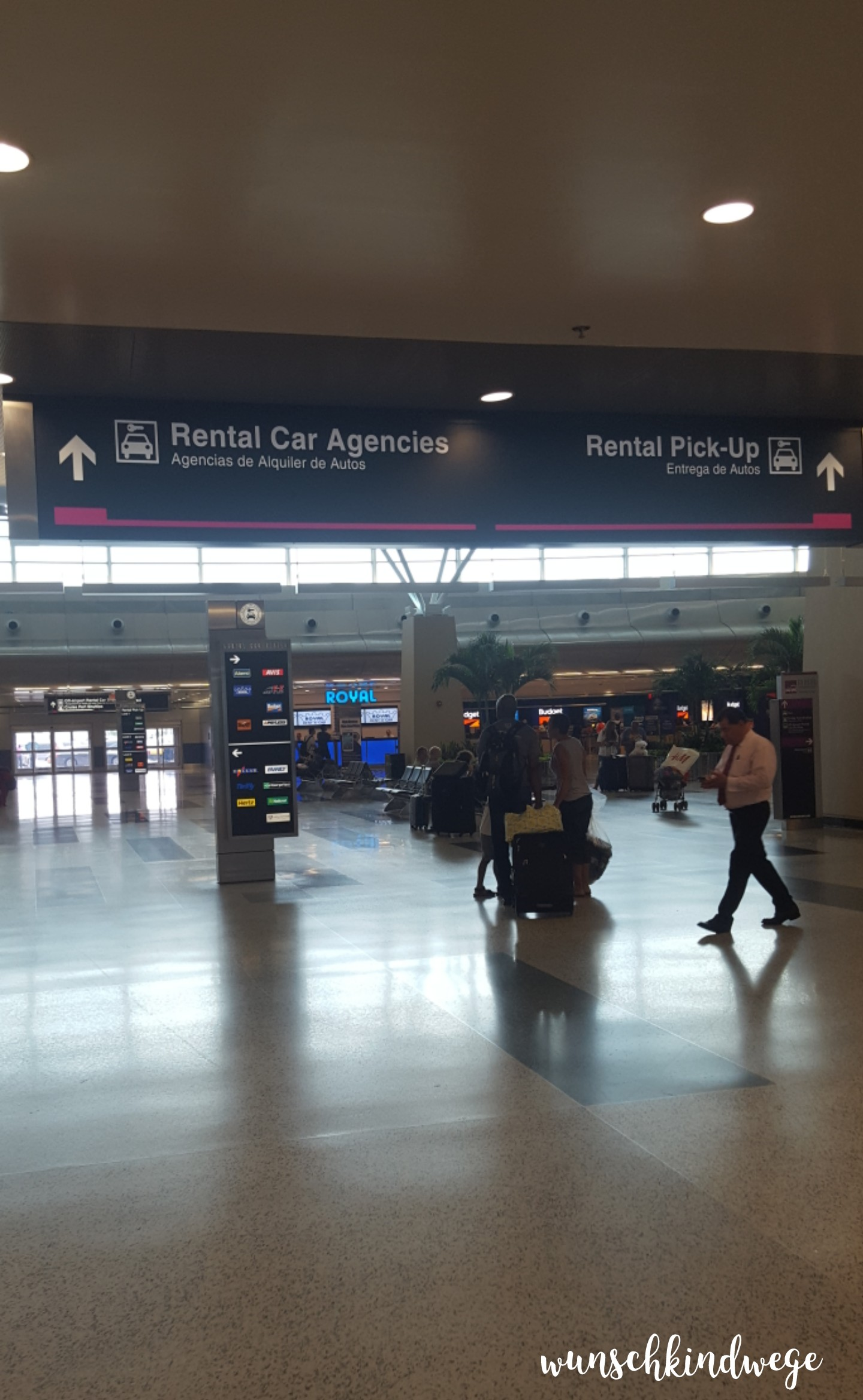 Florida mit Kindern: Miami Airport Car Rental Center