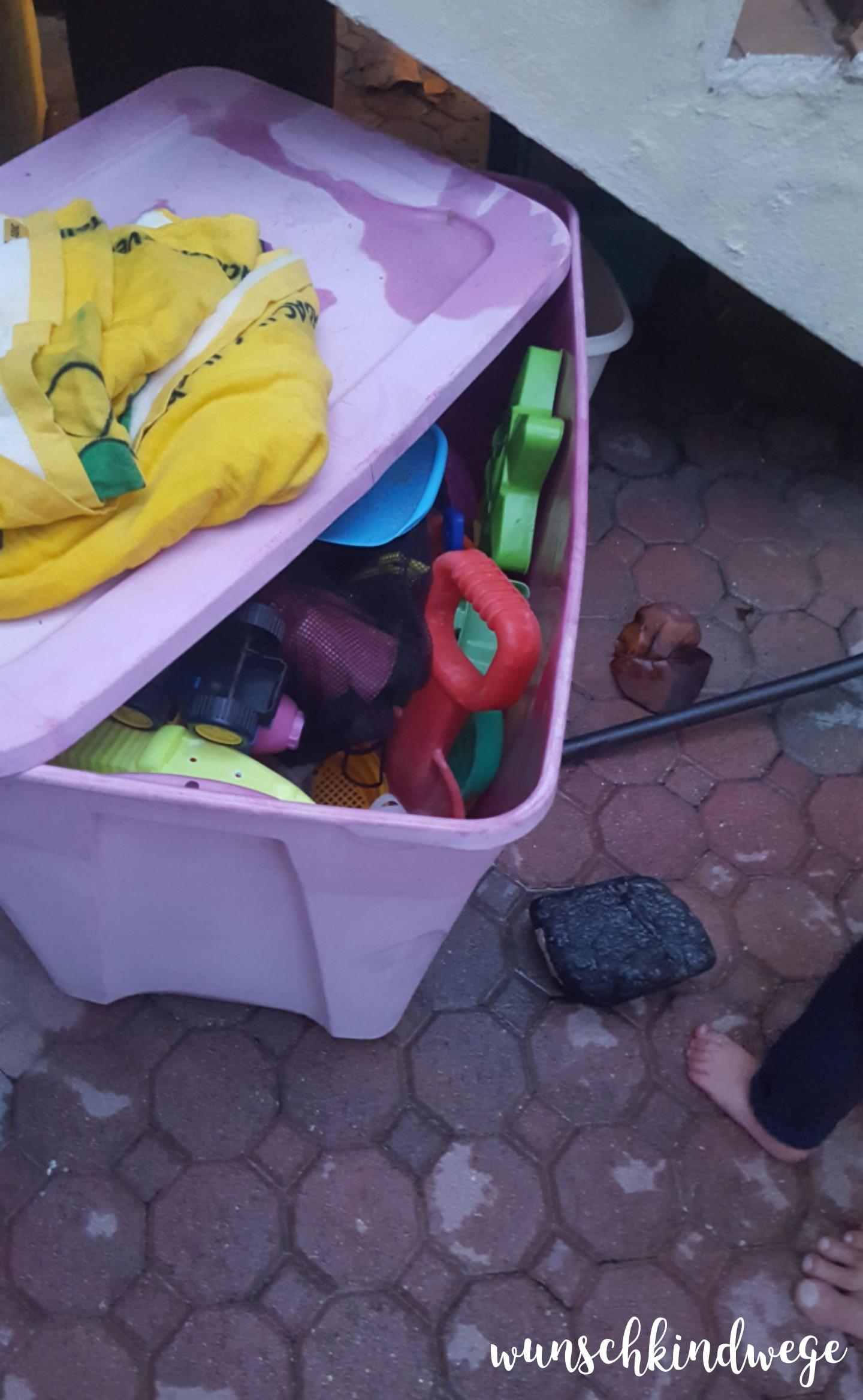 Florida mit Kindern: Spielzeugkiste