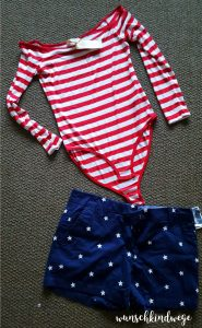 Florida mit Kindern Reisetagebuch: Stars and Stripes Outfit
