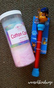 Florida mit Kindern Reisetagebuch: Paw Patrol Wasserpistole & Cotton Candy