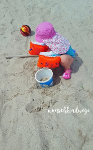 Florida mit Kindern Reisetagebuch Sandbuddeln