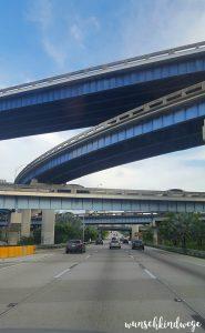 Florida mit Kindern Reisetagebuch Autobahn Miami