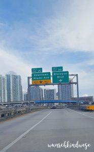 Florida mit Kindern Reisetagebuch Downtown Miami