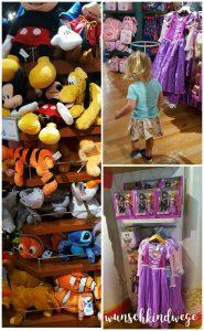 Florida mit Kindern Reisetagebuch Disney Store