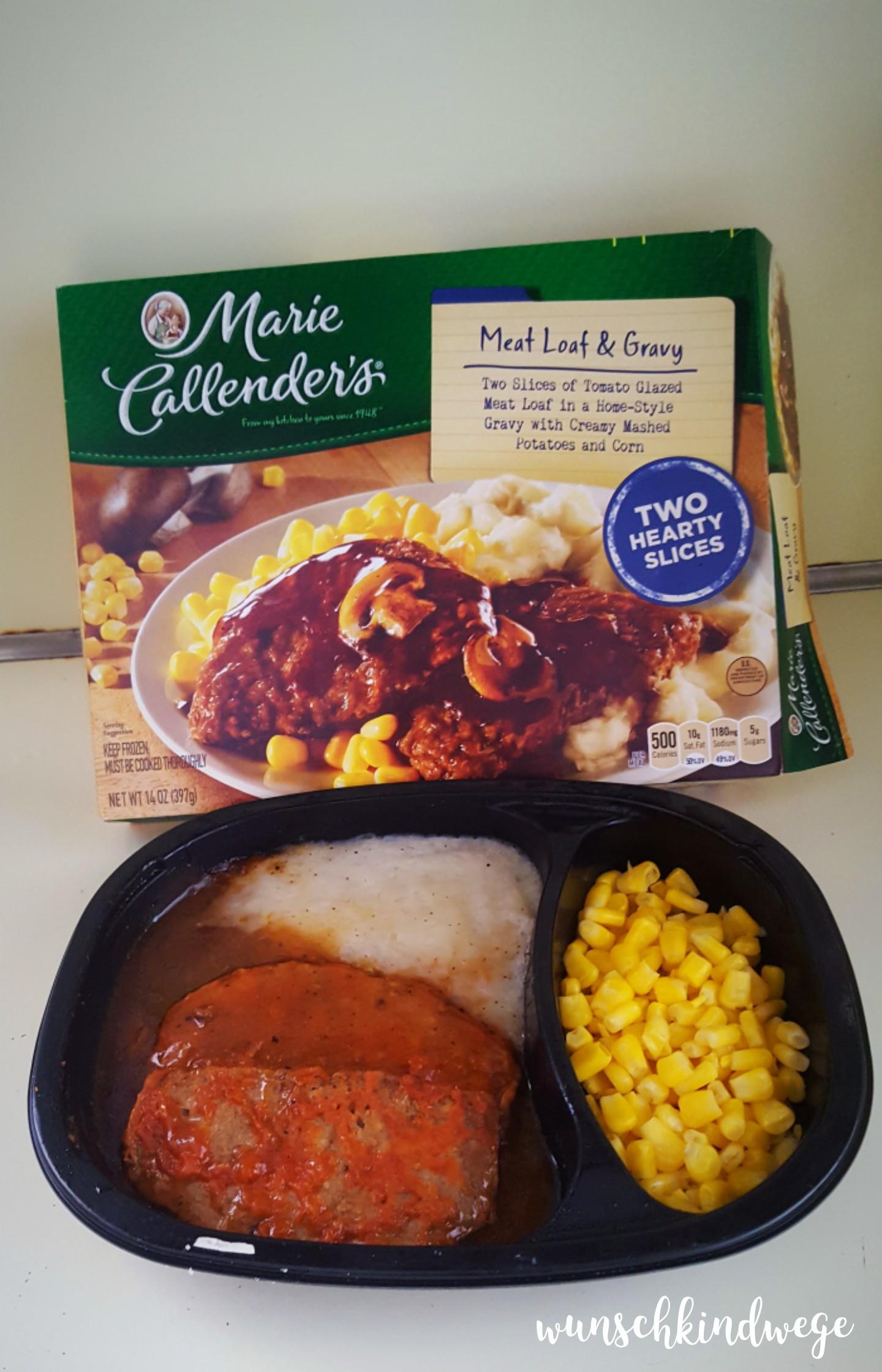 Florida Marie Callenders Meat Loaf & Gravy Mikrowellenessen