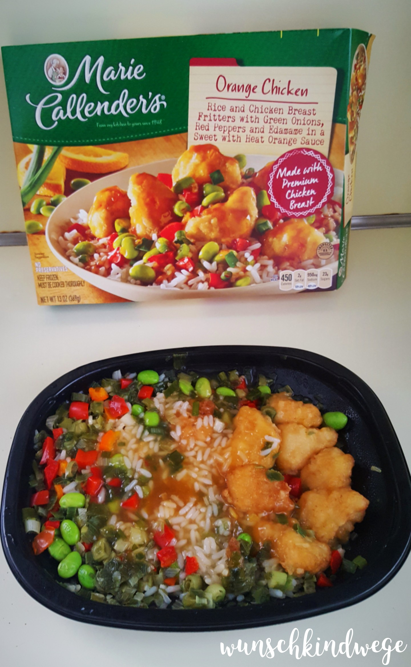 Florida Marie Callenders Orange Chicken Mikrowellenessen