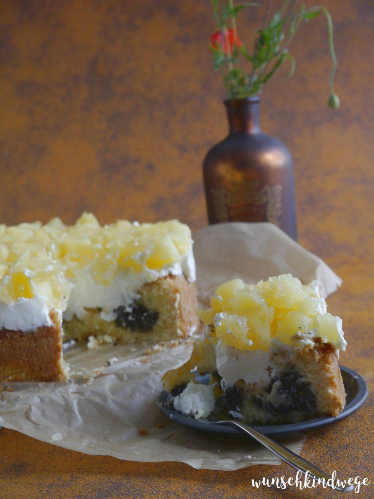 Apfel-Mascarpone-Torte mit Mohn