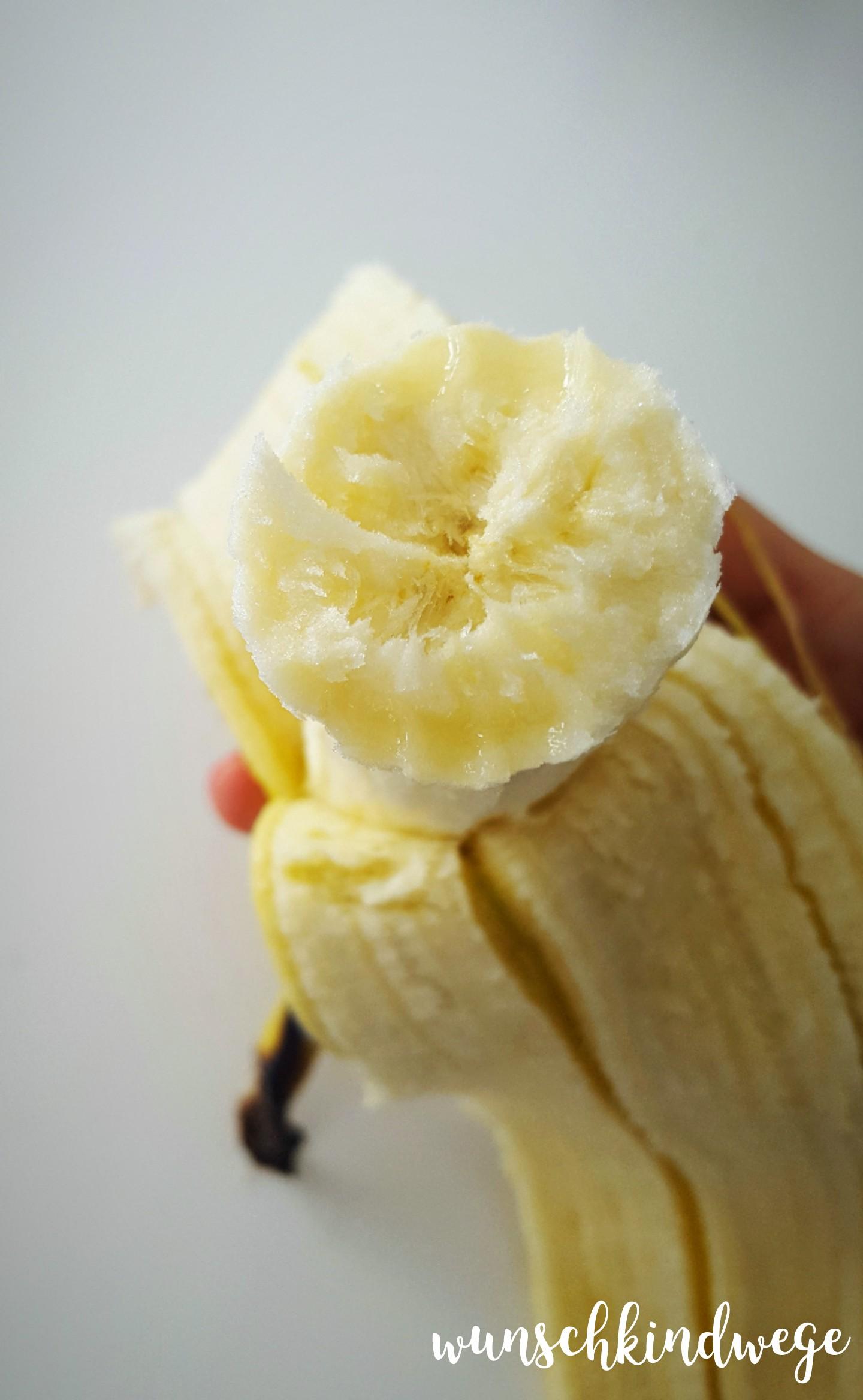 12 von 12 - September 2017: Banane zum Mittagessen