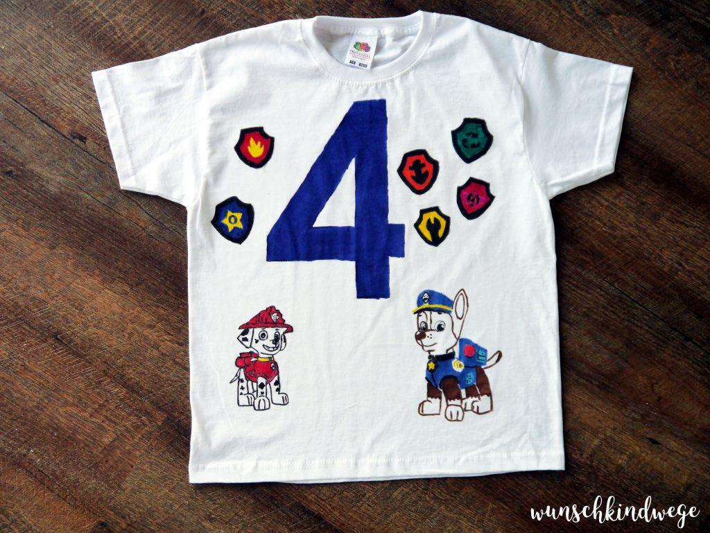 Paw Patrol Geburtstag - Geburtstags T-Shirt
