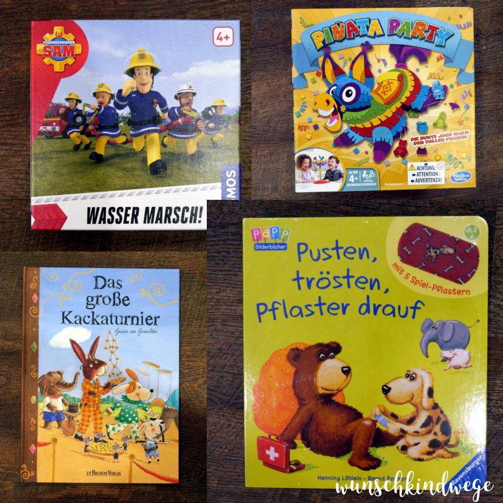 Geschenkideen zum 4. Geburtstag: Geschenke von den Freunden