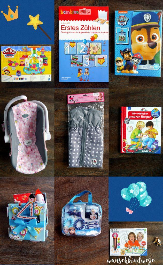 Geschenkideen zum 4. Geburtstag: Geschenke von Omas und Opas
