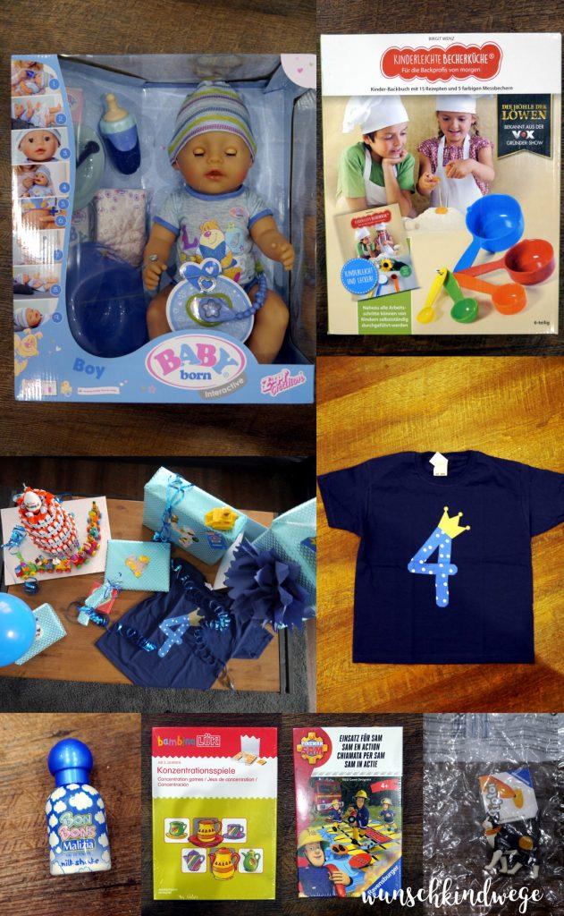 Geschenkideen zum 4. Geburtstag: Geschenke von Mama, Papa und Schwester