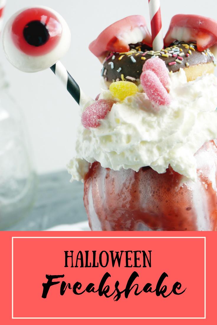 Halloween Freakshake - Rezept und Verlosung - wunschkindwege