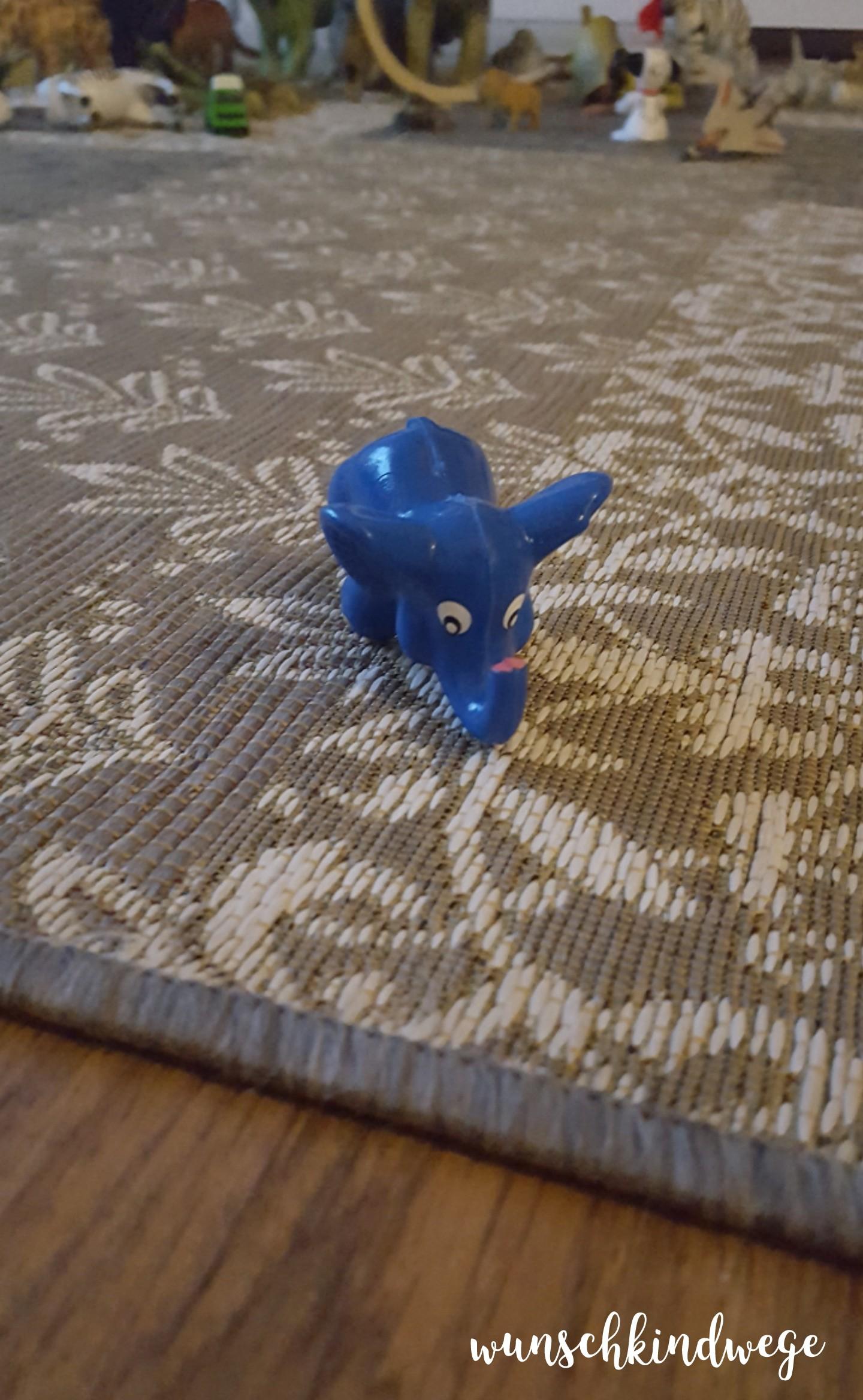 12 von 12 - November 2017 kleiner blauer Elefant