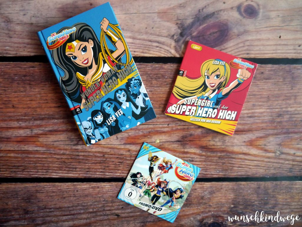 DC Super Hero Girls Verlosung