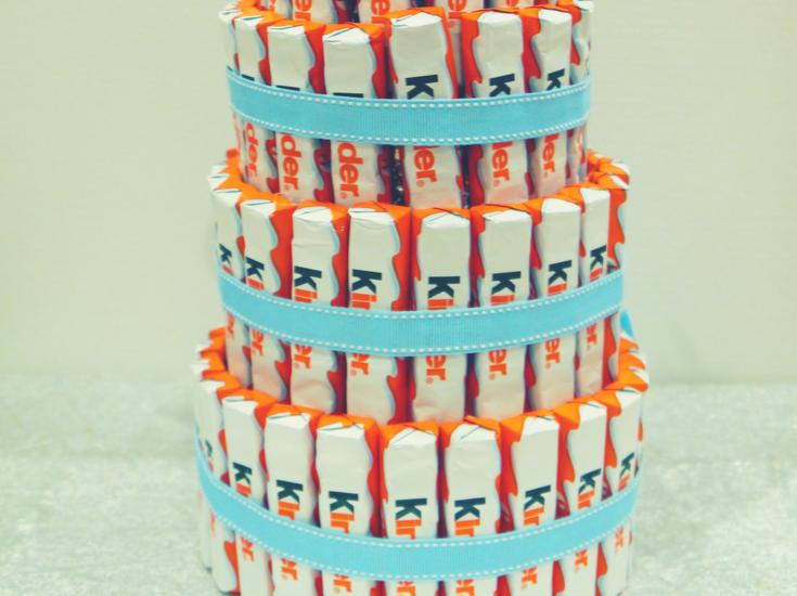 Kinderschokoladen-Torte DIY