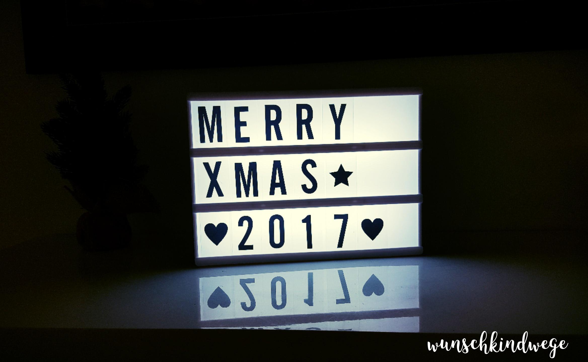 Weihnachtswochenende Lightbox