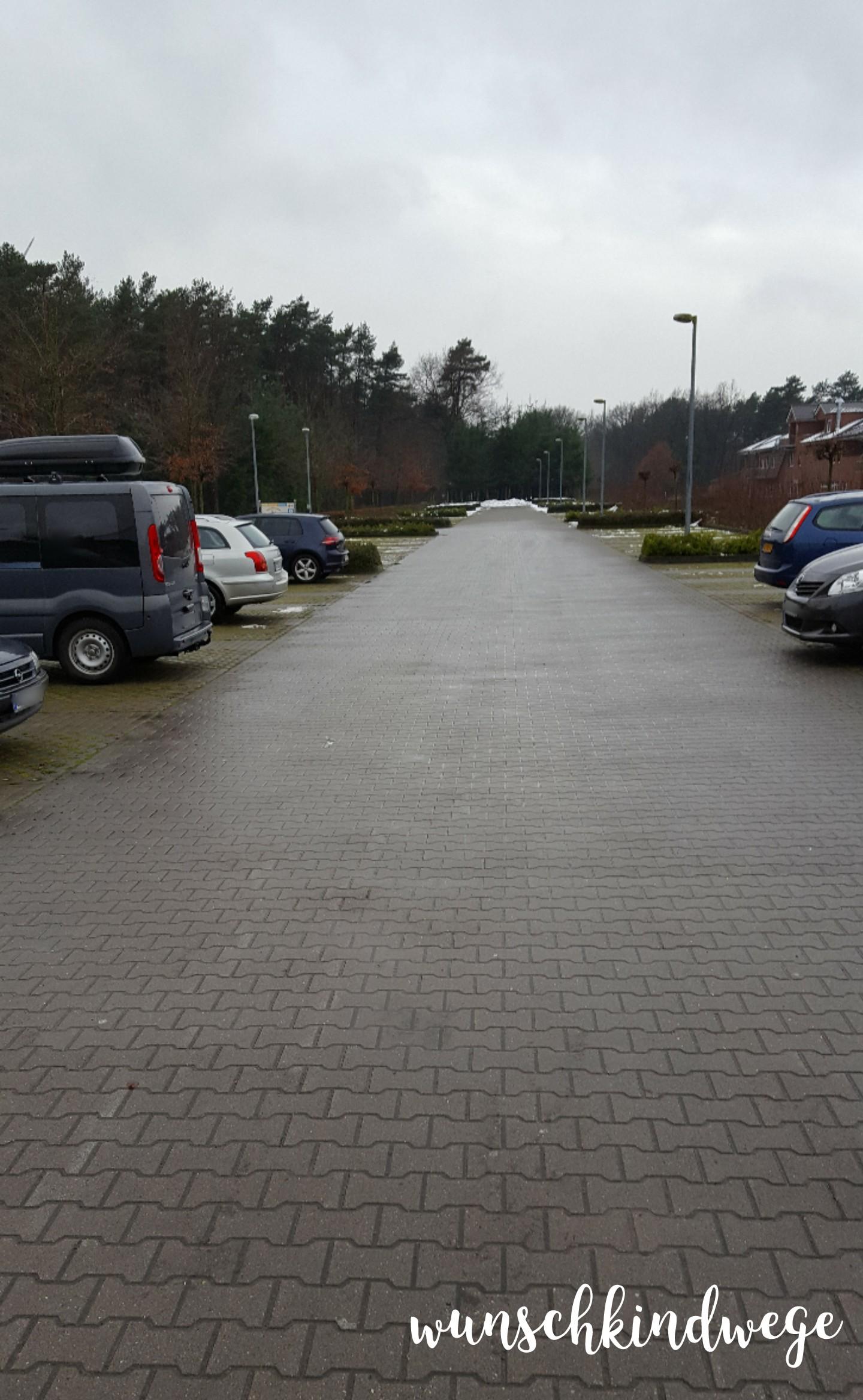 12 von 12 - Dezember 2017 Parkplatz