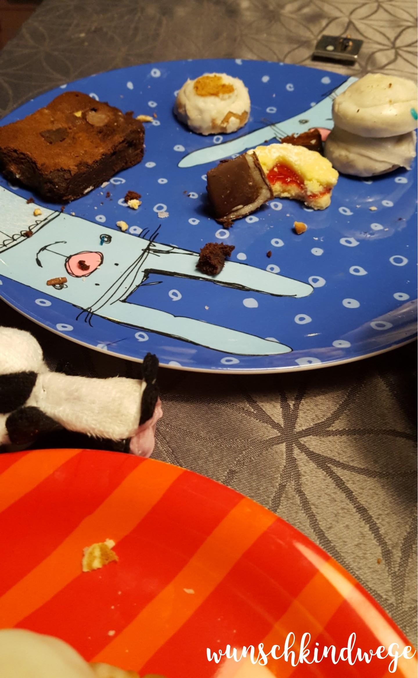 Weihnachtswochenende Kekskrümel